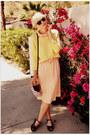 Vintage-dress-h-m-sweater-rachel-comey-sandals