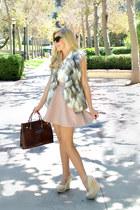 free people vest - H&M skirt - H&M top