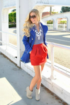 Verycom jacket - Maje skirt - Slendid top