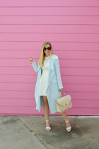 white modcloth heels - walktrendy dress - IfChic coat
