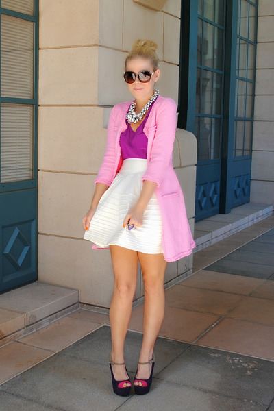 ted baker skirt - Zara blazer
