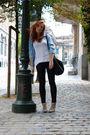 Black-topshop-pants-black-next-bag-beige-mango-boots-blue-zara-shirt-whi
