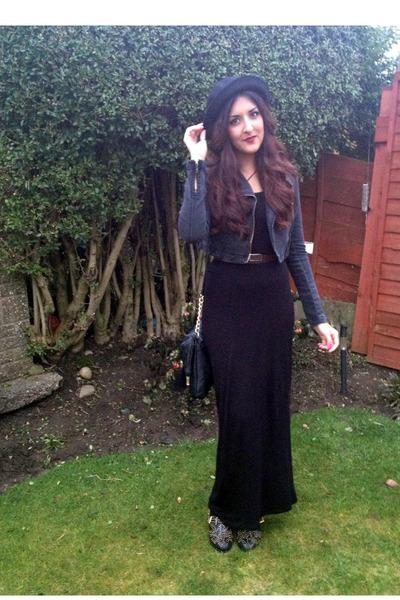 Long Black Urban Dresses