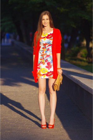red Love dress