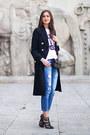 Black-river-island-coat-sky-blue-topshop-jeans-black-asos-heels