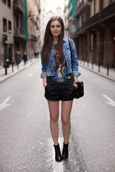 Denim Jacket And Shorts - My Jacket