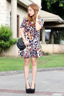 Printed-blackfive-dress