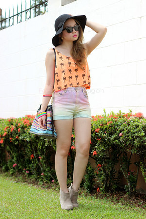 ombre Shortcuts shorts