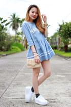 baby doll dress dress - zomg sneakers