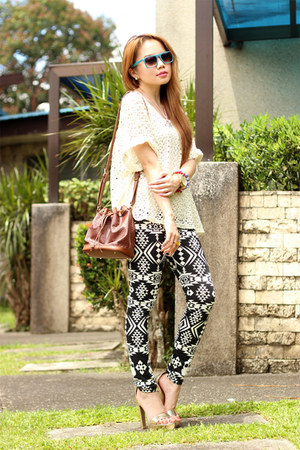 tribal OASAP leggings - armcandies Crafty Details accessories