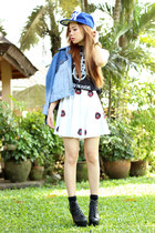 skater skirt ootd pilipinas skirt - muscle tee gifi clothing top