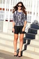 Sportsgirl sweater - Mango bag - Zara heels