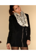 DIY dress - new look blazer