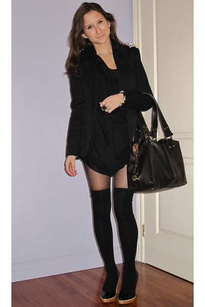 Zara dress - H&M socks - Samsara by Matt&Nat purse - Kors by Michael Kors shoes