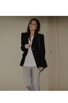 Michael Kors accessories - Zara pants - Zara shoes - Zara blazer - vintage purse