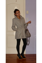 H&M coat - H&M tights - Michael Kors shoes - Aldo purse