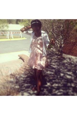 peach Wet Seal dress