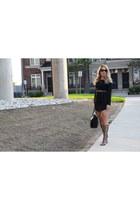 gladiator Sheinside sandals - black Sheinside dress