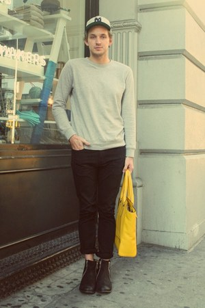 dalas boots JD Fisk boots - black denim Levis jeans