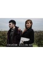 Topshop coat - black trench H&M coat - Buffalo shoes - Ebay bag - whistles bag