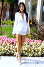 White-express-blazer-camel-aldo-accessories-bag-white-romwe-shorts