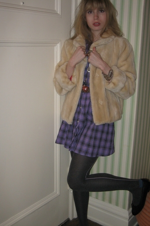 milly jacket - See by Chloe dress - vintage saks fifth ave belt - Vintage costum