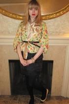 beige Diane Von Furstenberg jacket - black 31 phillip lim skirt - black Kenneth