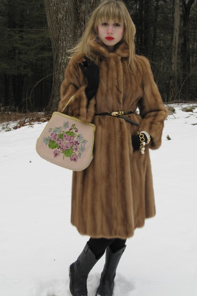 Vintage Mink Coat Photo Album - Reikian