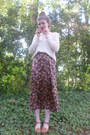 Maxi-forever-21-skirt-knit-forever-21-sweater-lips-pin-oasap-accessories