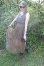 Camel-maxi-vintage-skirt-dark-brown-lace-up-charlotte-russe-boots