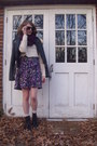 Cream-knit-forever-21-sweater-black-combat-target-boots