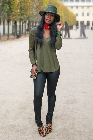 Joie boots - Cheap Monday jeans - south moon under hat - madewell shirt