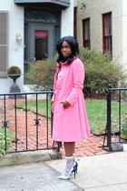 vintage coat - Loft sweater - Rebecca Minkoff bag - American Apparel socks