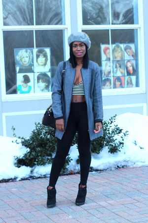 Wells Grace coat - Steve Madden boots - Monki hat - Rebecca Minkoff bag