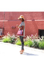 Vintage-hat-madewell-shirt-vintage-bag-h-m-pants-brian-atwood-sandals