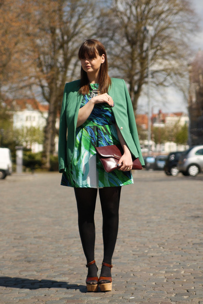 Zara blazer - AX dress