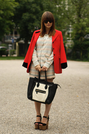 Vintage DKNY blazer - Marni for H&M blouse