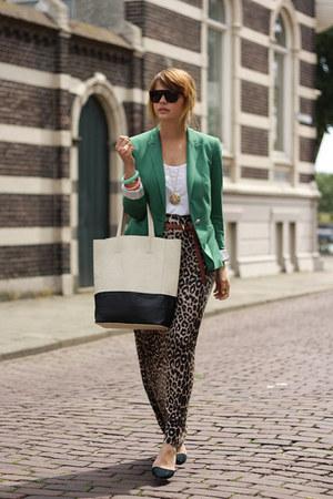 Zara blazer - VJ-style bag