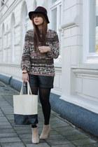 Zara sweater - VJ-style bag