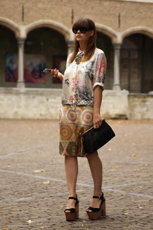 Mailparmi dress - Prada sunglasses