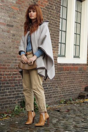 Zara coat - Chloe boots