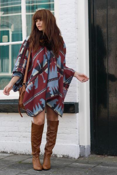 poncho ASOS scarf
