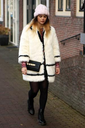 H&M Paris Collection coat - Dr Martens boots - ISABEL MARANT POUR H&M sweater