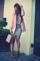 H&M blazer - vintage purse