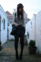 Urban Outfitters top - Only skirt - Topshop boots