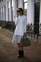 Michael Kors bag - G-Star boots - Zara sweater - Celine sunglasses