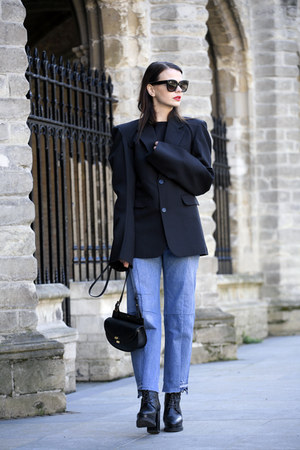 Vetements jeans - Vetements sweater - Vetements blazer - Chloe bag