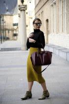 asos skirt - Chloé Suzanna boots - GIVENCHY ANTIGONA bag