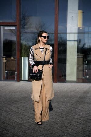sleeveless Missguided coat - ps11 PROENZA SCHOULER bag