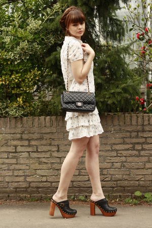 Jeffrey Campbell shoes - Only dress - Chanel purse